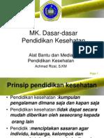 (7) Alat Bantu Dan Media Pendidikan Kesehatan