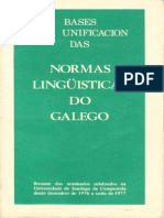 Bases Normas Galego 1977