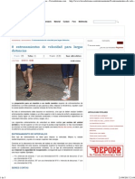 8 Entrenamientos de Velocidad Para Largas Distancias - Foroatletismo