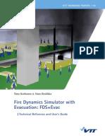 Fire Dynamics Simulator With Evacuation Vtt
