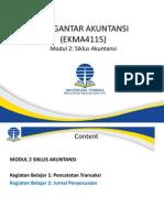 EKMA 4115-Pengantar Akuntansi-Modul2-Siklus Akuntansi.pptx