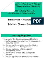 2-Lectures Ch 13 Introduction to Measurement