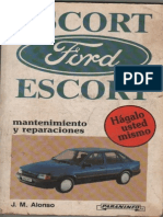FORD ESCORT Mantenimiento y Reparaciones - JM ALONSO