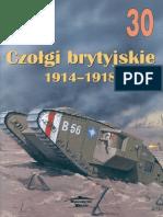 (Wydawnictwo Militaria No.30) Czołgi Brytyjskie 1914-1918