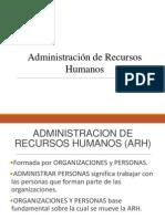 Administracion de Personas
