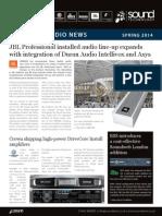 Sound Technology Installed Audio Newsletter - March 2014