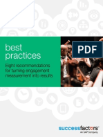 Best Practices Eight Recommendations Engagement