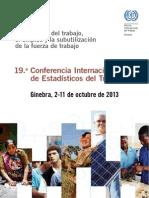 19° Conferencia Internacional de Estadísticos del Trabajo