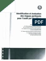Audit-6 Identification Et Evaluation Des Risques Pertinents Pour l'Audit Par l'Auditeur