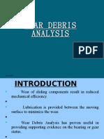 Wear Debris Analysis ASHWIN THOTTUMKARA FULL PPT