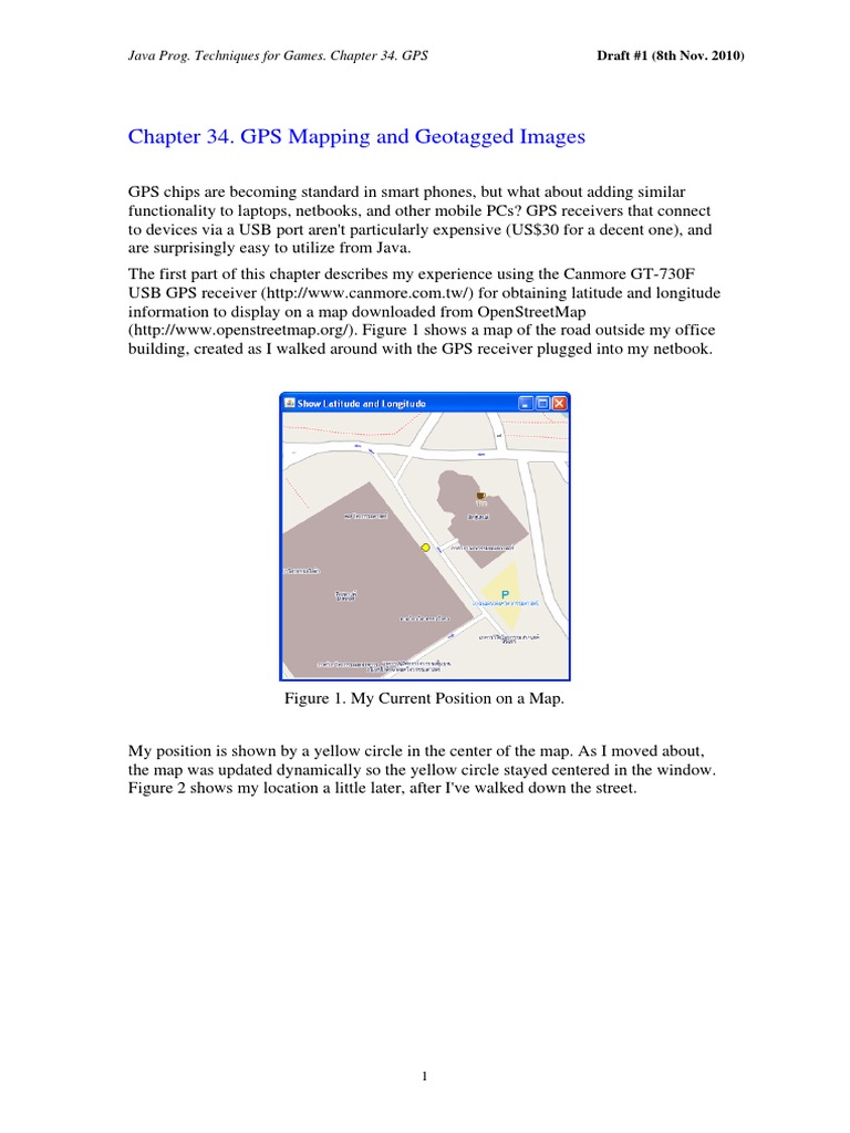 Gps Mapping   Java (Programming Language)   Application