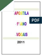 APOSTILA - VOGAIS -