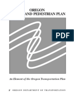 Oregon Bicycle and Pedestrian Plan