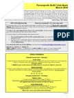 Perranporth SLSC Club Newsletter March 2014