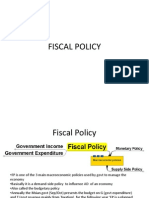 Fiscal Policy Malaysia