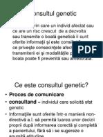 Consultul Genetic