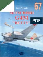 "(Wydawnictwo Militaria No.67) Mitsubishi G4M ""Betty"""