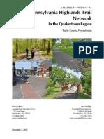 Quakertown Region Master Trail Plan 2013