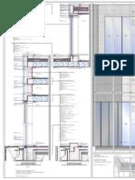 Konstruktives Projekt | Fassadenschnitt M-1-20