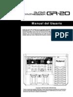 Roland GR-20 Manual