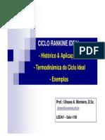 01_Ciclo Rankine Ideal_Histórico_Aplicações_Termodinâmica do Ciclo