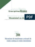 Www.referat.ro-mecanisme de Transformare a Miscarii de Rotatie Continua in Rotatie Intermitenta14985d01d