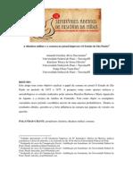 A ditadura militar e a censura no jornal impresso (O Estado de São Paulo)