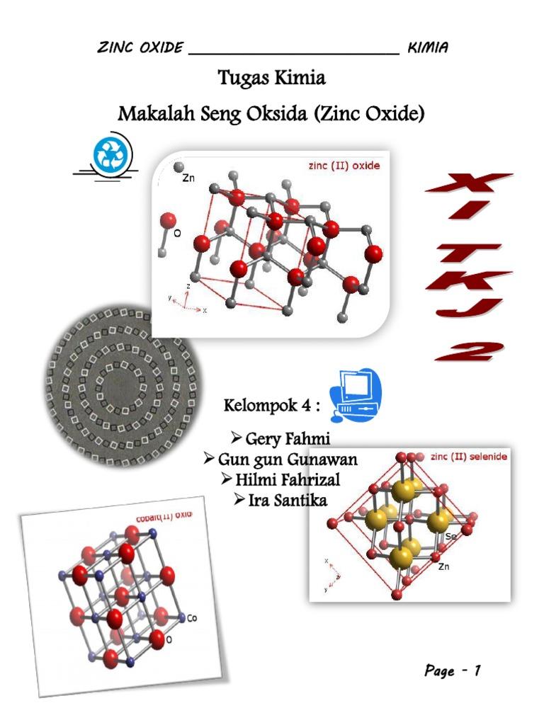 Zinc Oxide Kimia