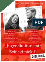 Jugendpolitischer Flyer