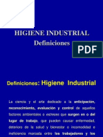 H. Industrial Clase 1 2012-1
