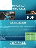 Rules of Football - pps