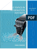 Advance Topics In Information Security - Assignment No. 03