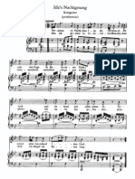 Schubert - Idens Nachtgesang [Ida's Nachtgesang] (Kosegarten)