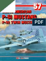 (Monografie Lotnicze No.57) North American P-51 Mustang/P-82 Twin Mustang, Cz.3