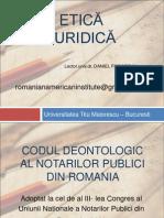 Cod Deontologic Notar Public