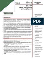 37493C DSLC-2Digital Synchronizer_Load Control