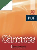 Canones 2012 2016 Final