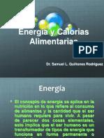 Energia y Calorias