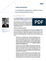 New Capitalization Regulations-Additional Safe Harbor and Rehabilitation Rules
