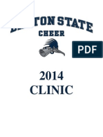 Dalton State Cheer Youth Clinic