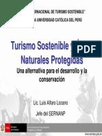 Turismo Sostenible y Areas Naturales Protejidas