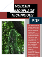 Modern Camouflage Techniques