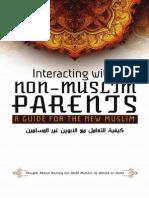 eBook Interaction With Non Muslim Parents a Guide for the New Muslim Shaykh Abdur Razzaaq Al Badr