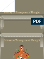 Management School of Thoughts