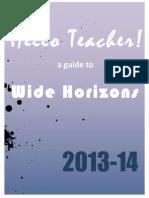WH Hello Teacher! 2013-14