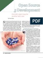 Open Source Drug Development