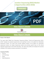 Global Next Generation Sequencing Market