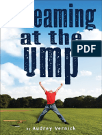 Screaming at the Ump Excerpt by Audrey Vernick