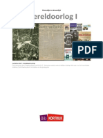 Wereldoorlog I; WOI themalijst