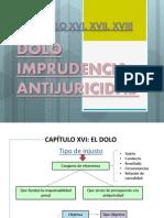 CAPÍTULO XVIel dolo